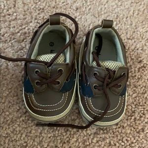 Brand new baby boat shoes.